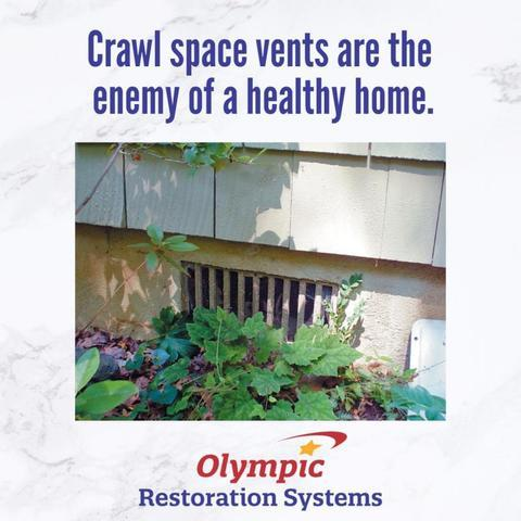 Crawl Space Vents: The Enemy of a Healthy Home