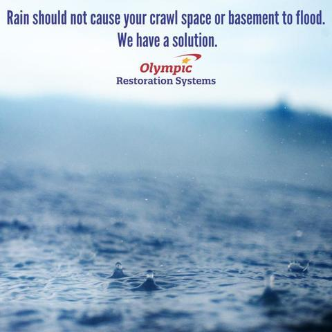 Water Should Not Be In Your Crawl Space or Basement