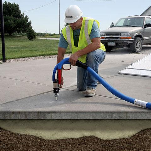 Why Raising Concrete Slabs With PolyLevel is a Better Choice  than Mudjacking in Montana and Wyoming
