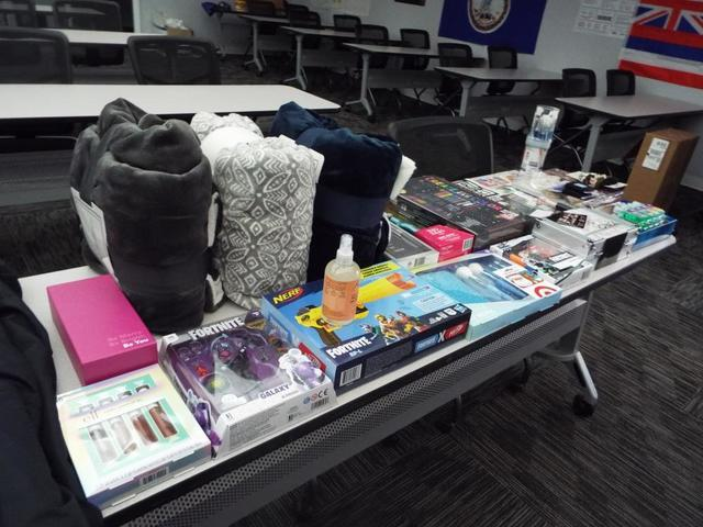 We donated blankets and gifts to the YWCA Adopt a Family program.