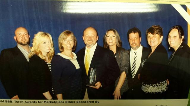 The Basement Doctor Cincinnati was chosen as 2014 Torch Award Honoree!
