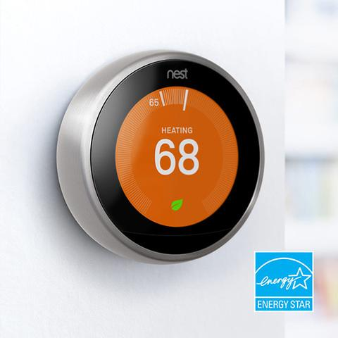The Nest Learning Thermostat received an ENERGY STAR® from the EPA. In fact, it is the first thermostat in America...