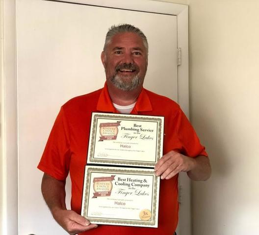 Hal with Awards