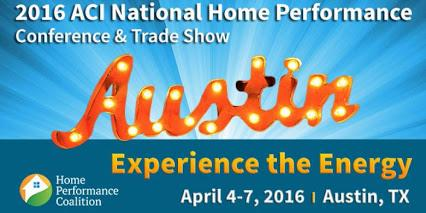 2016 ACI National Home Performance Conference and Trade Show
