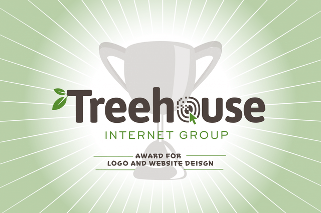 We Won an Award for the New Treehouse Internet Group Logo