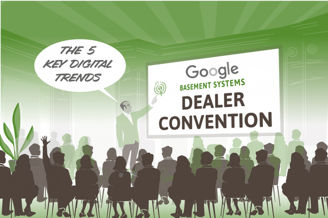 Google Presents at Basement Systems Dealer Convention