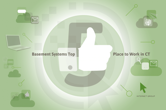 Hearst Media Selects Basement Systems as a Top 5 Place to Work in CT