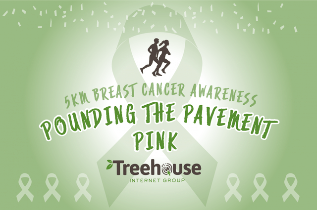 Pounding the Pavement for Breast Cancer Awareness