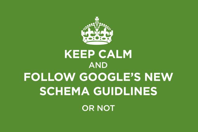 Google's New Schema Guidelines