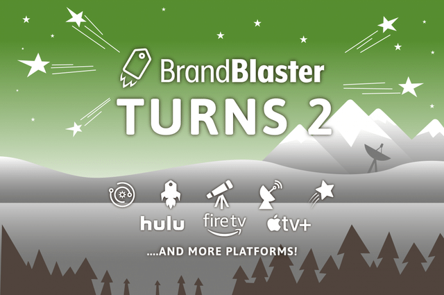 Our Digital Advertising Program, BrandBlaster, Turns Two