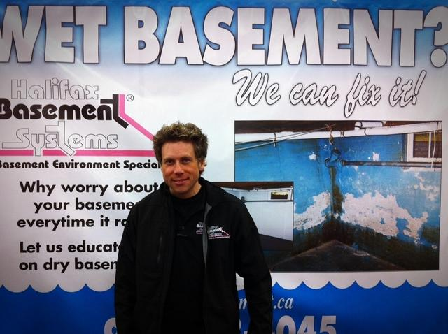 Halifax Basement Systems at the Ideal Home Show in Exhibition Park, Halifax