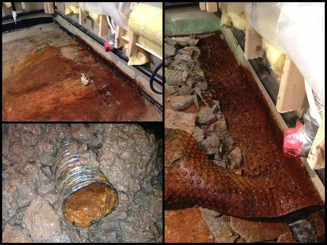 Is your basement solution designed NOT to CLOG?