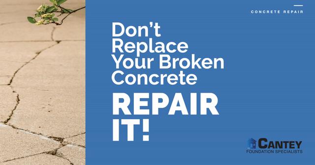 Don\'t Replace Your Broken Concrete - Repair It! - Image 1