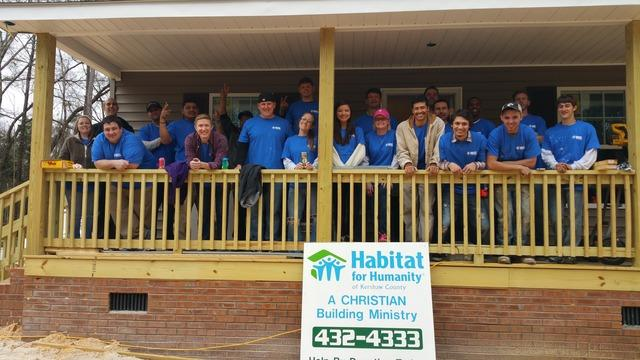 Cantey Works With Habitat for Humanity