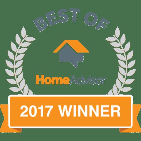 Saber is a 'Best of 2017' Award Winner Through HomeAdvisor