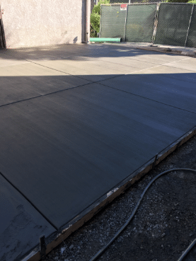 Basic steps for concrete placement