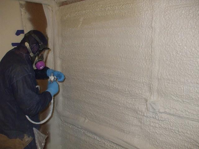 Spray Foam Application Will Seal Air Leaks And Insulate Your Home