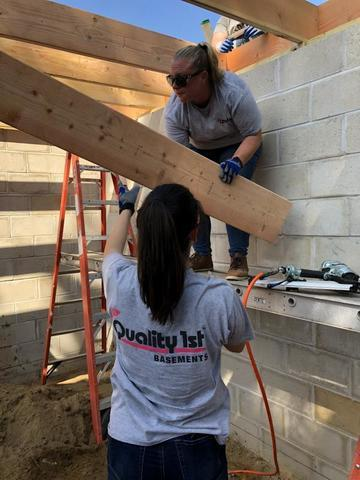 Quality 1st Helps CAI- NJ & Habitat For Humanity Monmouth County for the day! - Image 2