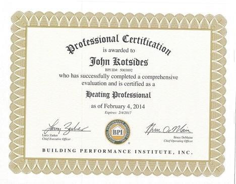 John Kotsides - Heating Professional