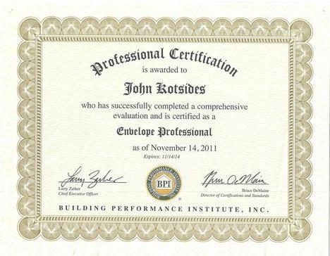 John Kotsides - Envelope Professional