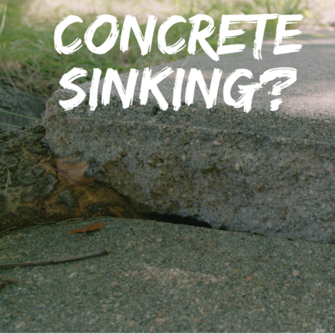 Want to know why concrete sinks?