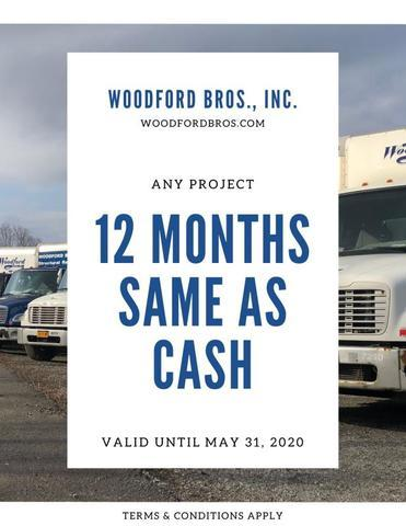 Woodford  Brothers basement waterproofing costs
