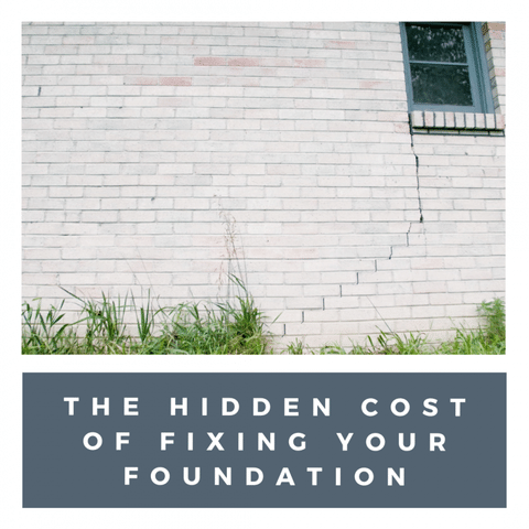 Hidden cost of foundation repair