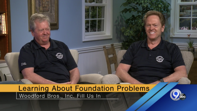 Woodford Bros., Inc. Talks about Foundation Problems with Local News Channel 9