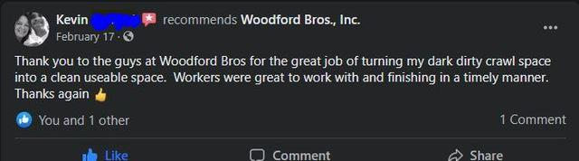 Woodford Brothers review