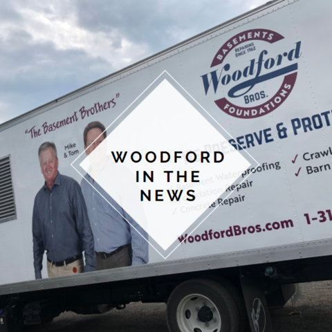 Woodford in the news - Cortland White Church