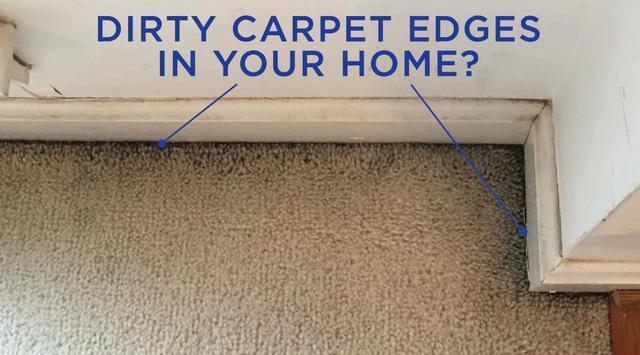 Do You Have Dirty Carpet Edges?