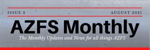 AZFS August 2021 Newsletter