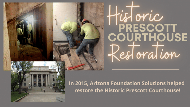 Historic Prescott Courthouse Restoration