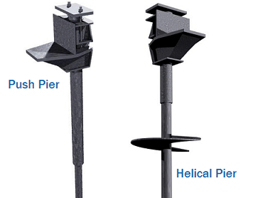Are helical piers or push piers the right solution for your foundation issue?