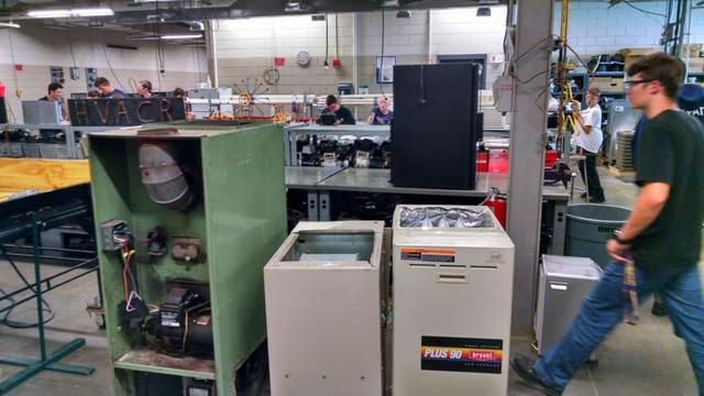 The equipment will be used in the support and training of juniors and seniors who are pursuing HVAC degrees at Bay Path Regional Vocational Technical High School in Charlton, MA.