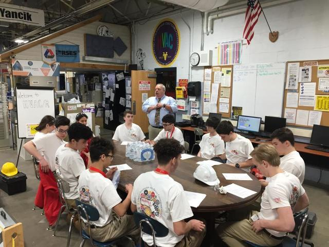 Mark E. Meacham is a Judge at the Annual Massachusetts Skills USA Competition for Champions at Work - Image 4