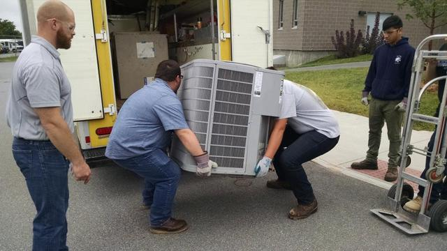 One-Hour Heating & Air-Conditioning will continue to donate HVAC equipment to Bay Path Regional Vocational Technical High School as often as the need arises