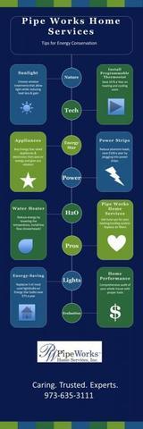 Energy Saving Infographic