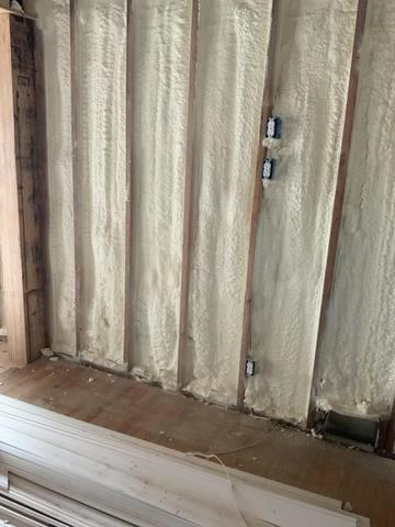 spray foam walls
