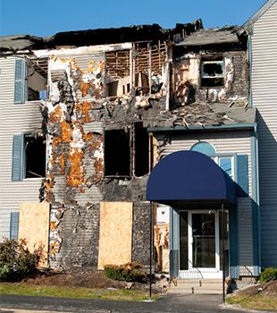 Fire damage restoration in Ohio