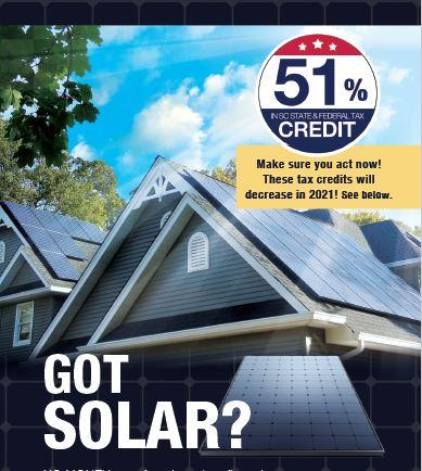 Think Solar, Think - Carolina Energy Conservation