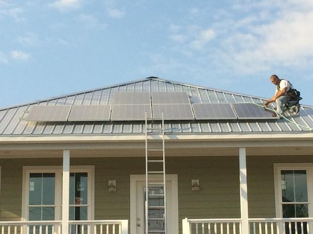 Solar panel installation in Myrtle Beach, SC