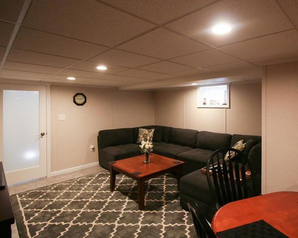 Total Basement Finishing is neutral, you (or the next homeowner) won't have to remodel to change the look of your...