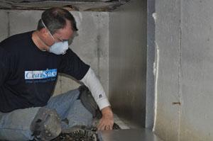 Crawl space insulation in Michigan