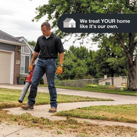 We want your home to be in better condition after we were there. Here's how...