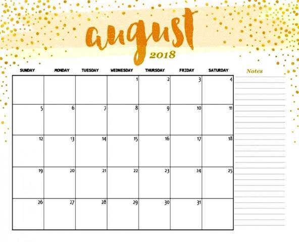HHM2018: August's 31 Days Challenge!
