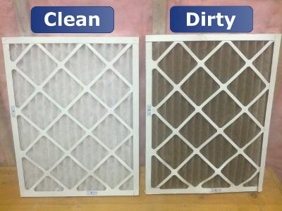 Remember to Clean and Change Your Air Filters