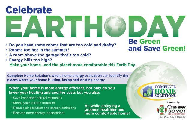 Celebrate Earth Day - Join the Movement