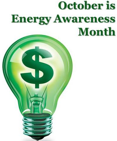 October is National Energy Awareness Month