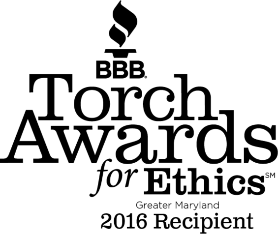 Last week, the Better Business Bureau serving Greater Maryland celebrated this year's recipients of its Torch Awards for Ethics. The...